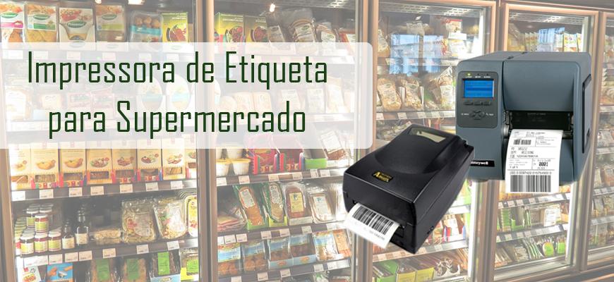 Impressora De Etiqueta Para Supermercado: Principais Tipos