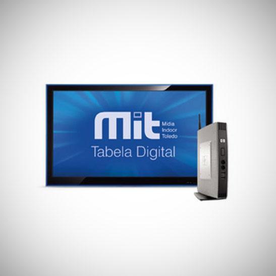 TOLEDO – MIT Tabela Digital